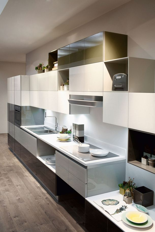 Ремесло: кухонная фабрика Scavolini