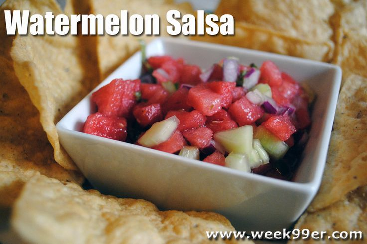 salsa naranja orange salsa watermelon blueberry salsa recipes dishmaps ...