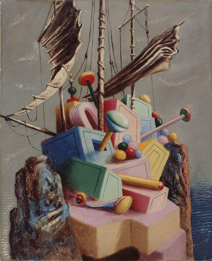 shot-magazine-savinio le navire perdu 1928