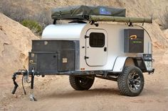 THE MOBY1 XTR: A modern take on the classic teardrop trailer, outfitted for off-grid adventure.