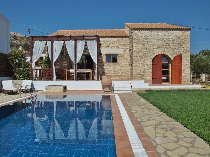 Villa Rhea, a new stone house with traditional Cretan style!, Timpaki | Cretico