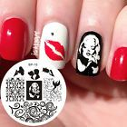 Nagel Schablone BORN PRETTY Nail Art Stamp Stamping Template Plates BP15