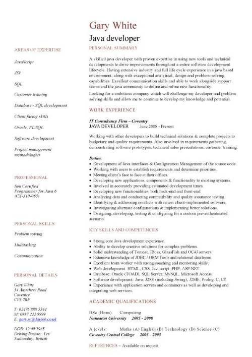 Php Programmer Resume - http://www.resumecareer.info/php-programmer-resume-2/