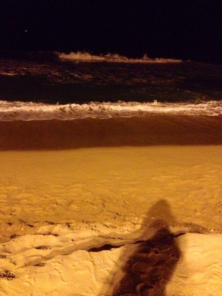 Barna night beach