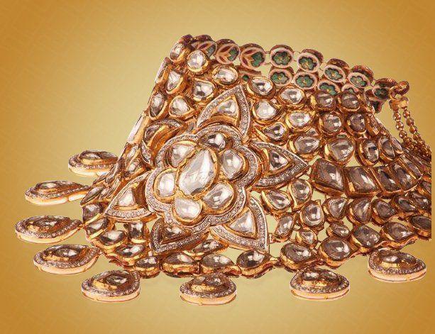 A perfect wedding jewelry - Bhuramal Rajmal Surana Johuree,Jadau collection.