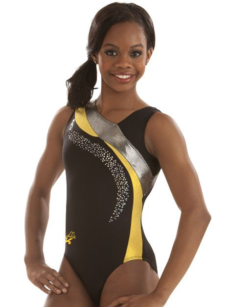 yellow accent leotard by gabrielle from gk elite jump