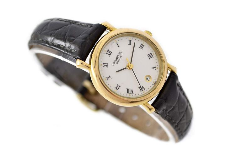 Raymond Weil Geneve 18kt Gold Plated Ladies Watch SKU: 1390