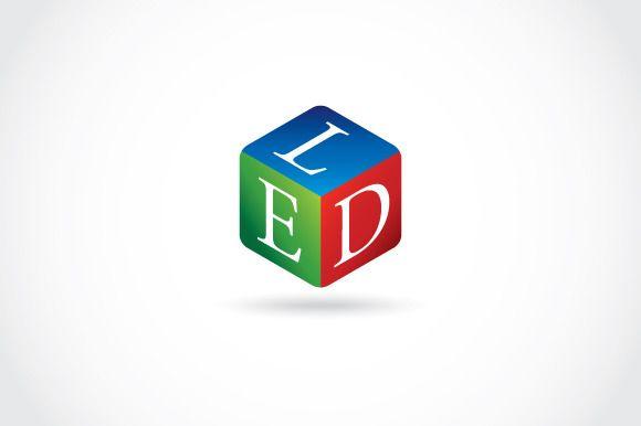 LED logo Template by mudassir101 on Creative Market