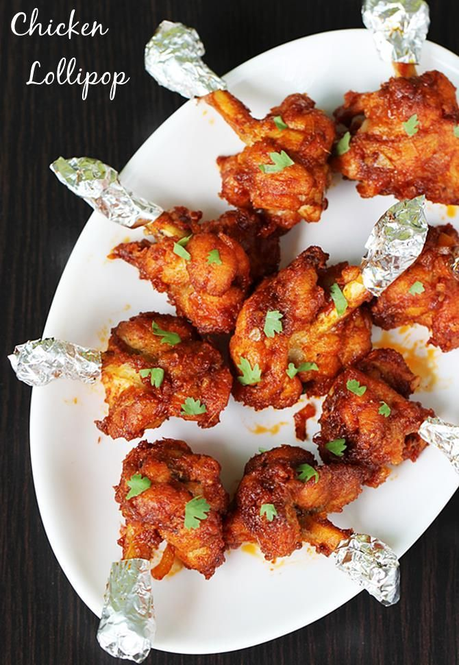 Chicken lollipop recipe. Makes a great appetizer for a party.