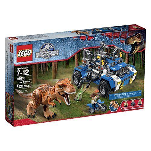 LEGO Jurassic World T. Rex Tracker 75918 Building Kit - Toys 4 My Kids