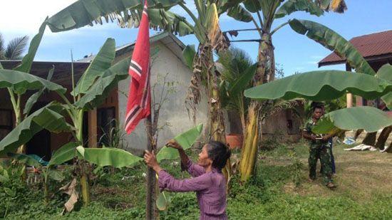 Tak Punya Bendera Merah Putih Nek Maryam Kibarkan Bendera Bulan Bintang