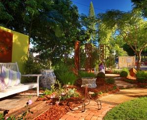 Landscape Display Garden by Zen Metal Art - Toowoomba