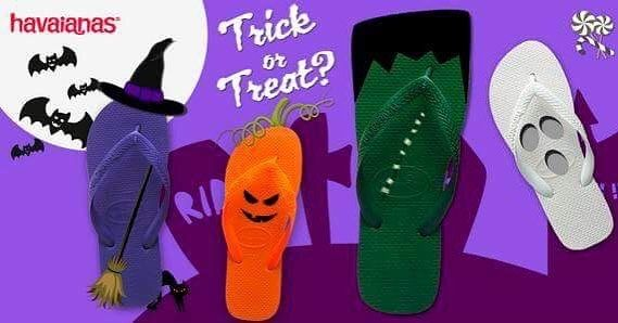 Trick or treat?   We treat you with a 30% S A L E on the whole Havaianas S/S 17 Collection  No candy included   http://bit.ly/Havaianas-SS17