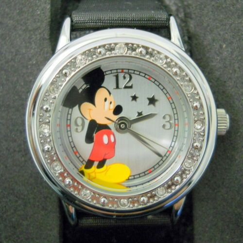 New-Watch-Mickey-Mouse-Disney-Boxed-Stars-Water-Resistand-100-Feet-New-Battery