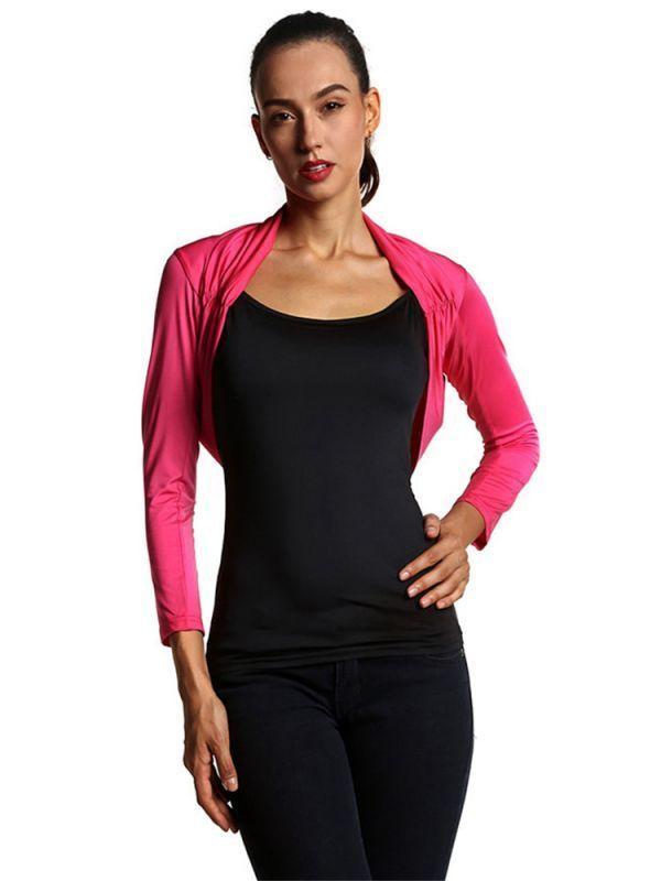 Slim women patchwork fold three quarter sleeve t-shirts t-shirt this girl can #best #quality #womens #t #shirts #lucky #13 #t-shirts #lucky-13 #womens #t #shirt #lost #girl #t-shirt #pattern #woman