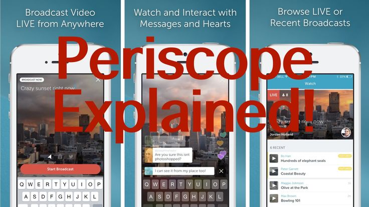 Periscope App By Twitter Explained & Download Link