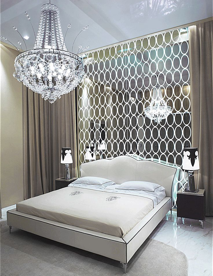 A gorgeous modern take and complete remix of the 1980s absolutely stunning would love it to be my dream master bedroom