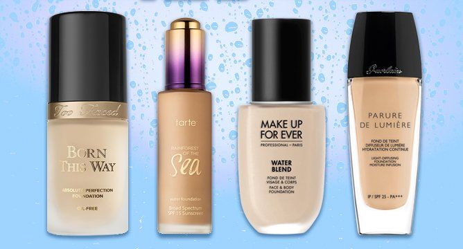 Water-based foundation is the hottest trend in the beauty world. Get the scoop here!