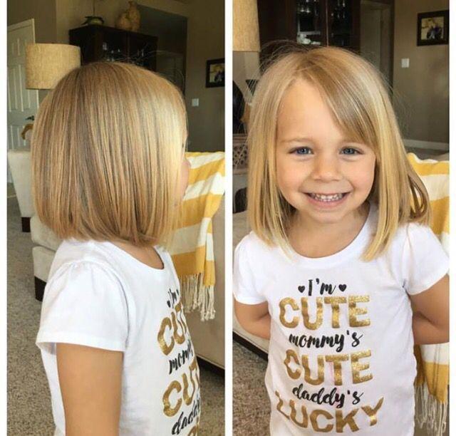 Cool Little Girl's Cut Hair By Jorie Wireman...