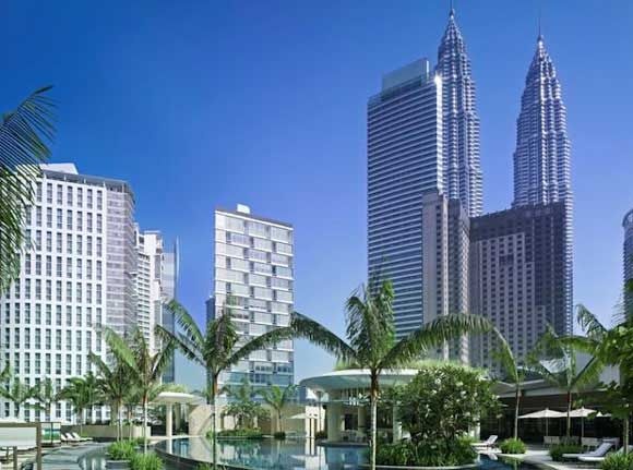 Grand Hyatt Kuala Lumpur Hotel, Malaysia http://www.wanderplanet.com/kuala-lumpur-travel-hotels-tourist-attractions/