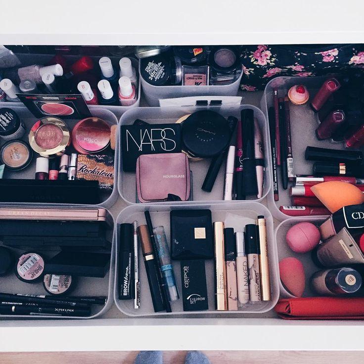 #makeup #vanity #makeupstorage