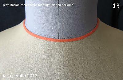 Exquisite bias application tutorial.: Fine Fabrics, Unique Designer, Sheer Fabrics, Application Tutorials, Design Patterns, Designer Patterns, Tejidos Costura, Exquisit Chiffon, Sewing Tutorials