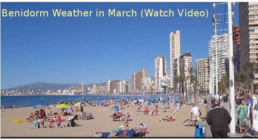 Benidorm Weather in March 2018 – Temperature in March