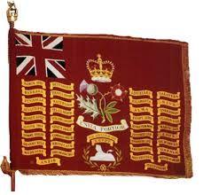 """Bandiera di guerra del  Rgt. inglese delle """"Foot Guards"""""""