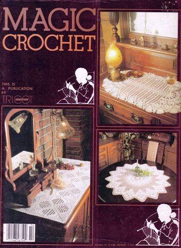 Magic Crochet Nº 14 - Rosio Llamas - Picasa Webalbumok