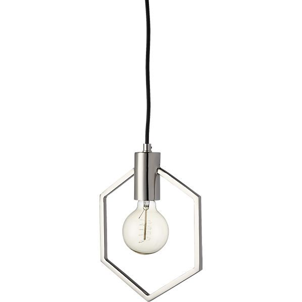 Geometric Silver Pendant Light Ceiling PendantPendant LightsLight BedroomContemporary ChandelierLighting