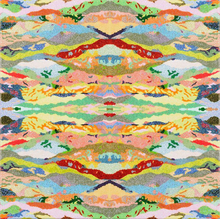 山がたく山界曼荼羅 / Tomoaki TARUTANI #ART #Contemporary ART #POP ART #Mandala #曼荼羅