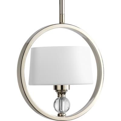 Progress Lighting - Fortune Collection Polished Nickel 1-light Mini-Pendant - 785247168804 - Home Depot Canada
