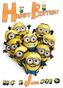 8 best Minion images on Pinterest | Minions quotes, Birthday cards ...