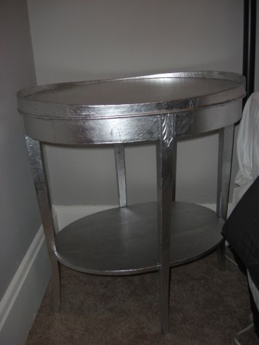 Perfect How To Silver Leaf Furniture