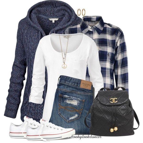 So cute!  Warm Winter Outfit Idea