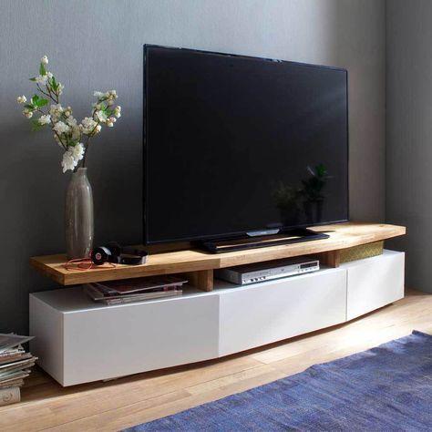 Awesome TV Unterschrank In Weiß Eiche Lackiert Jetzt Bestellen Unter: Https://moebel . Awesome Design