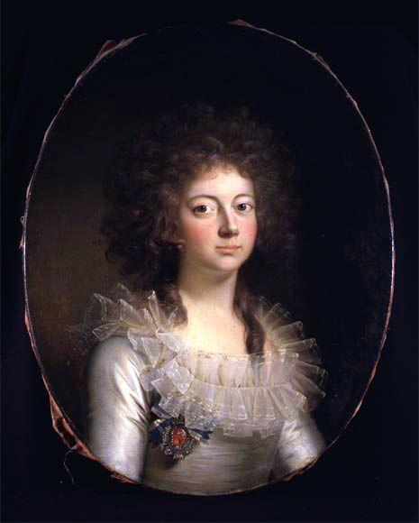 Marie of Hesse-Kassel, Queen of Denmark by Jens Juel, c. 1790