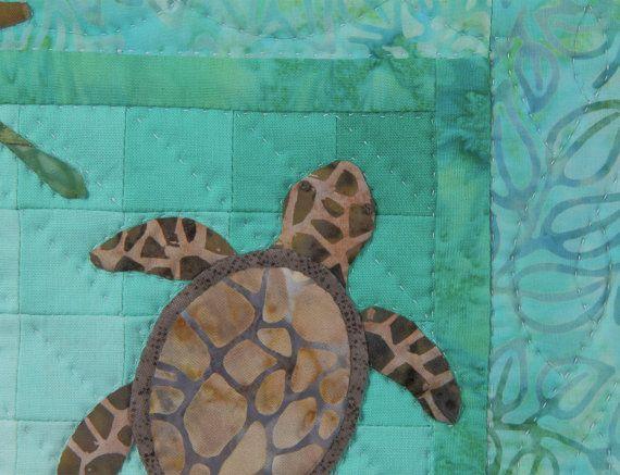 Turtles Wall Quilt Pattern от donnaburkholder на Etsy