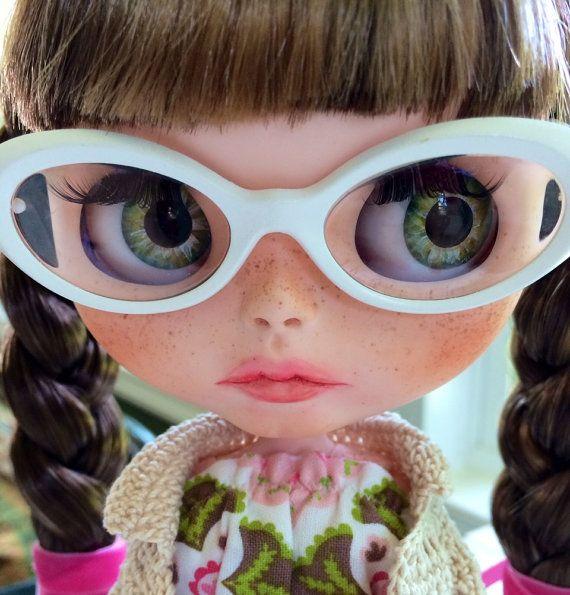 Custom Blythe Doll OOAK named Tabby  by EmmyB.lythe por EmmyBlythe