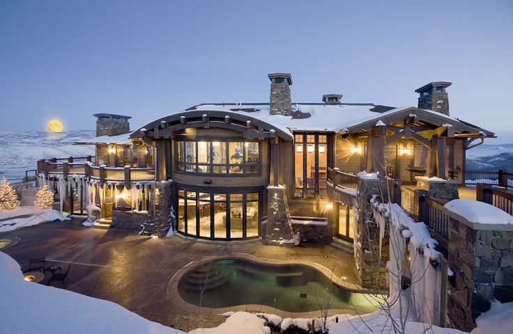 Mansion dream house: Exquisite Resort in Park City, Utah, United States