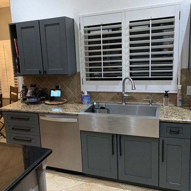 Shaker Cabinet Door 10 54 Per Sq Ft Plus Shipping Unpainted Any Size Made To Order In 2021 Kitchen Cabinet Design Shaker Cabinet Doors Dark Grey Kitchen Cabinets