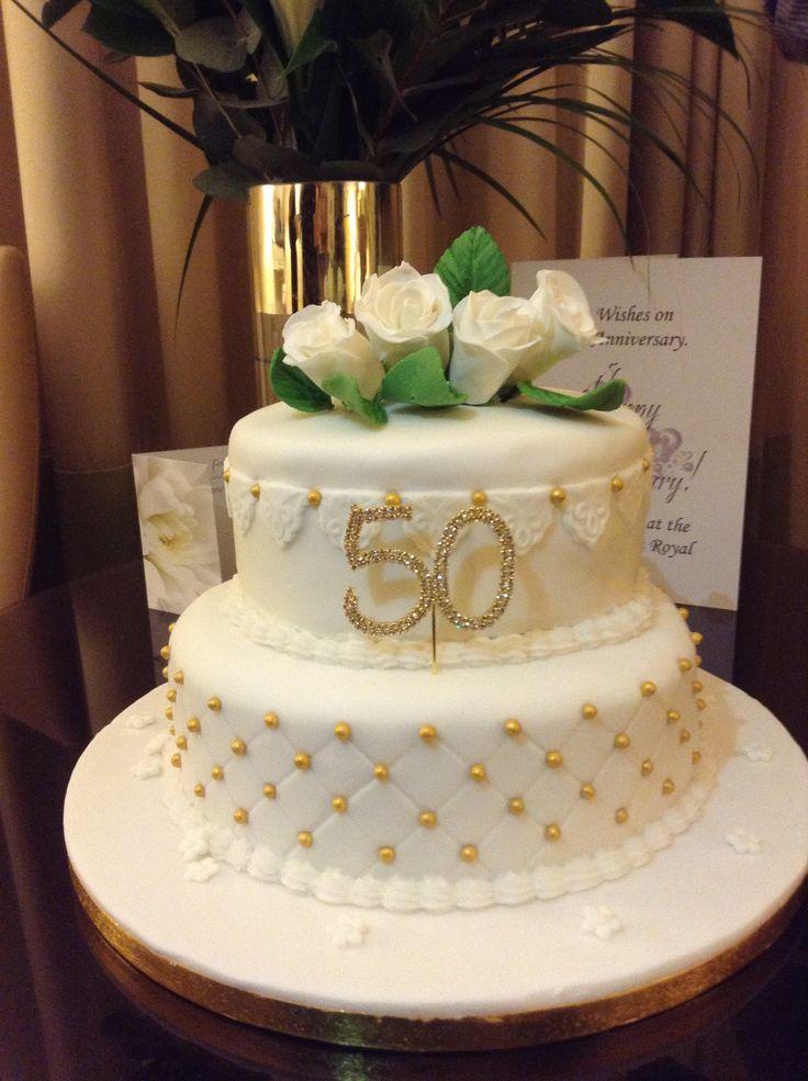 Golden Wedding Anniversary Gifts New Zealand : ... Wedding anniversary cakes, Golden wedding anniversary and Anniversary
