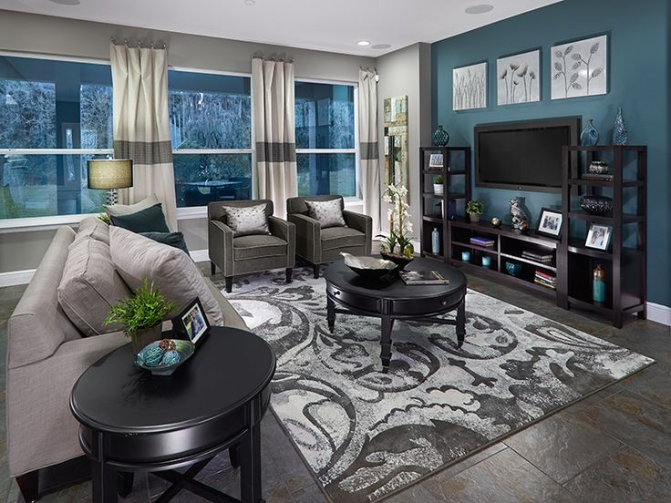 Meritage model home furniture