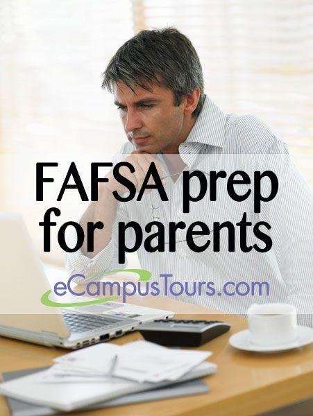 FAFSA prep for parents