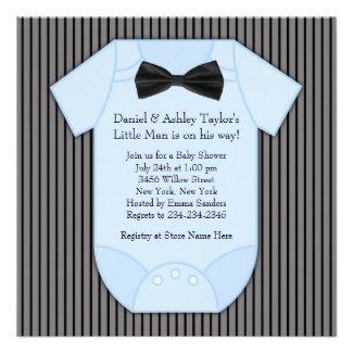 cute onesie baby shower invitation romper babyshower