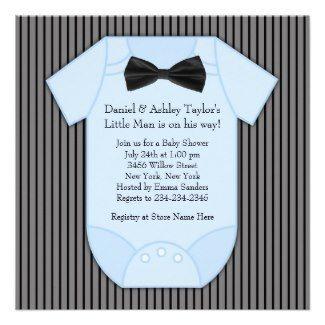 60 best baby boy shower invitations images on pinterest baby boy cute onesie baby shower invitation romper babyshower filmwisefo Gallery