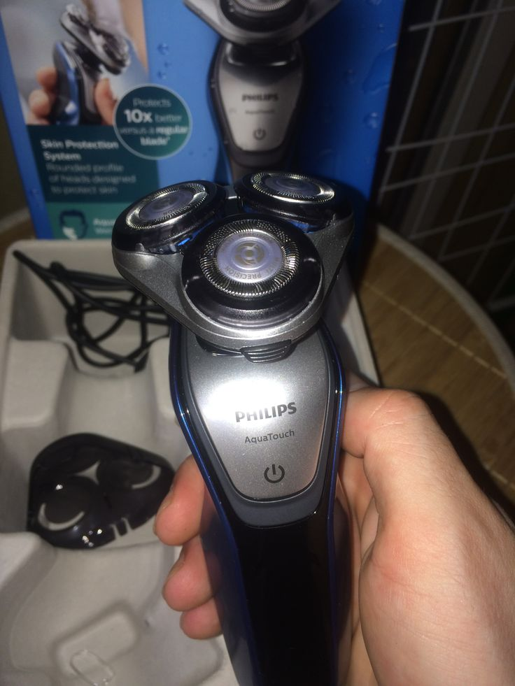 Rasier im Test: Philips Rasierer S5420/06 Aqua Touch