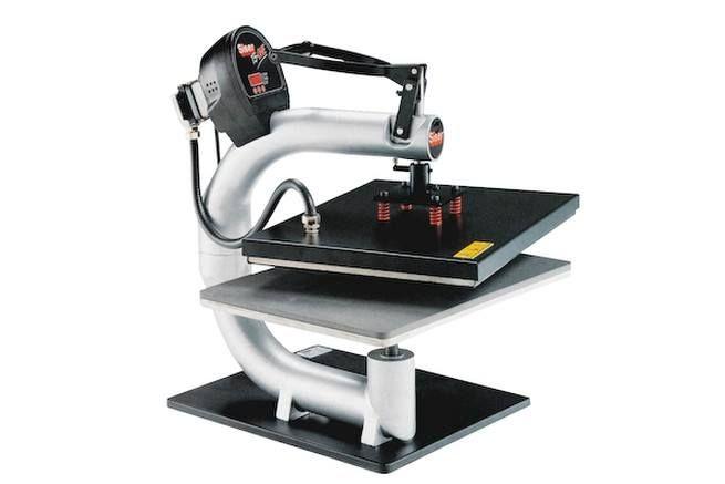 Mesin Hot Press Kaos Dari siser import dari Italy, dengan mesin ini sablon digital dengan Press kaos, hasil semakin sempurna