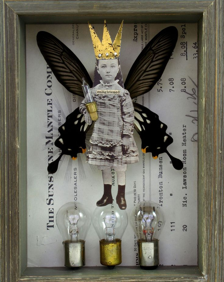 STEPHANIE RUBIANO assemblage art (please follow minkshmink on pinterest)