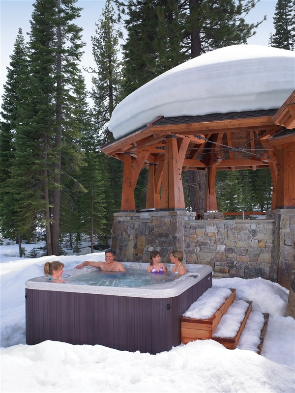 71 best hot tub images on pinterest | hot tubs, backyard ideas and ... - Patio Ideas With Hot Tub